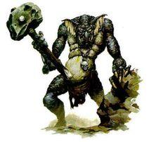 Trolls - Stone Troll (Old Art)