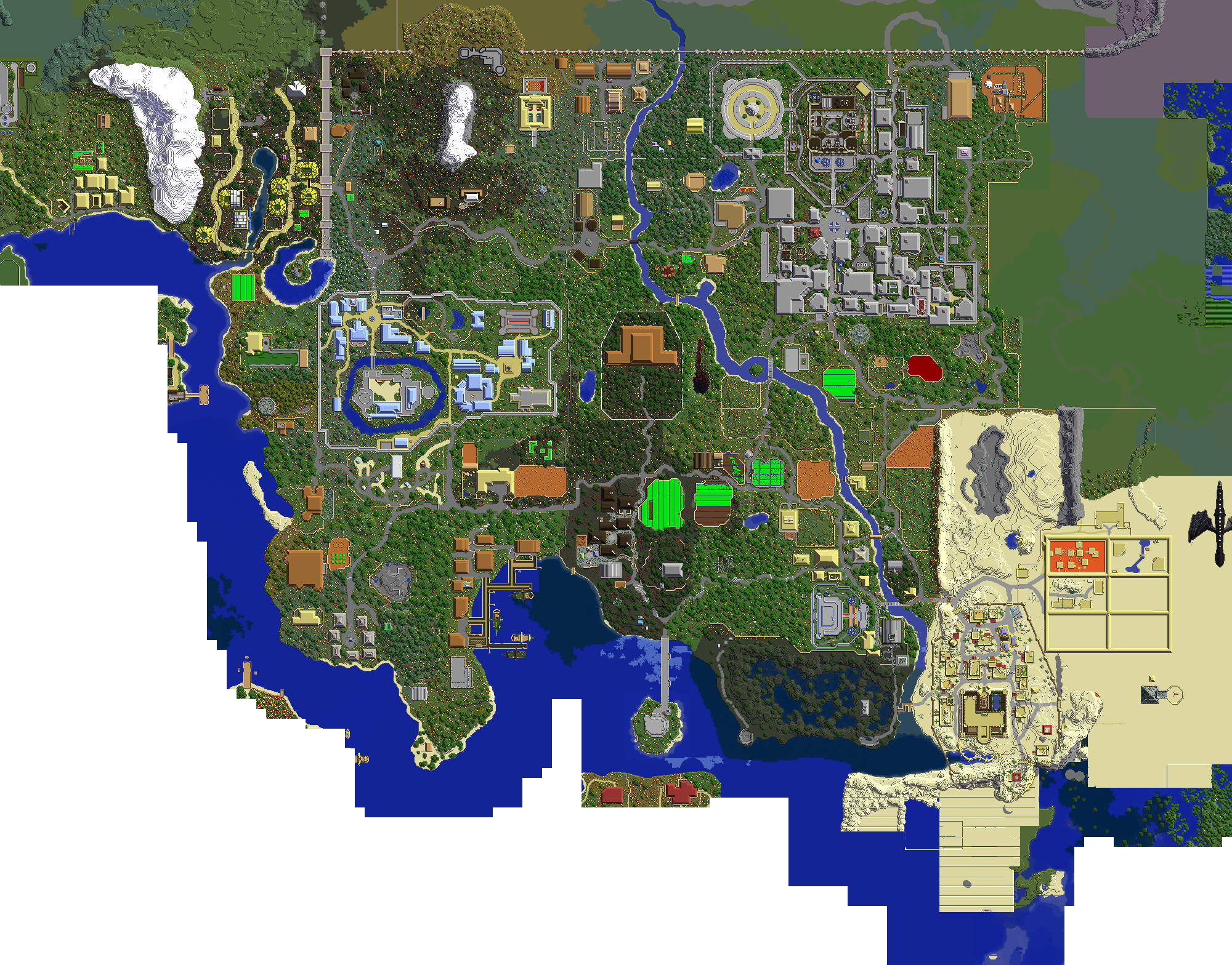World map minescape mmorpg wiki fandom powered by wikia world map 4 23 13 gumiabroncs Images