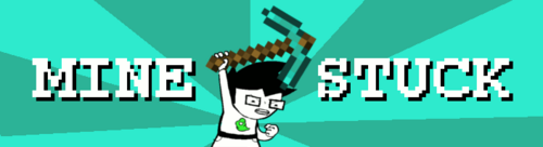 Minestuck logo