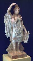 Monster history - Sirena de Canosa statue