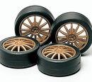 Fin-type Low-Profile Wheels