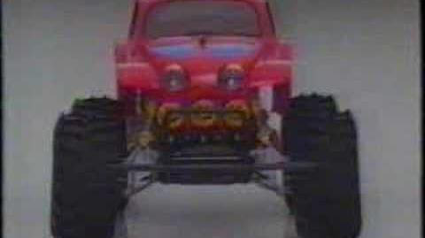 Tamiya Monster Beetle RC truck (filmed in 1986)