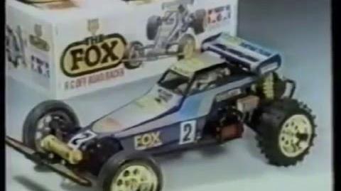 Tamiya RC The Fox (Filmed in 1985)