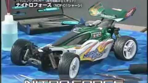 Tamiya Nitro series glow-engine buggies PV