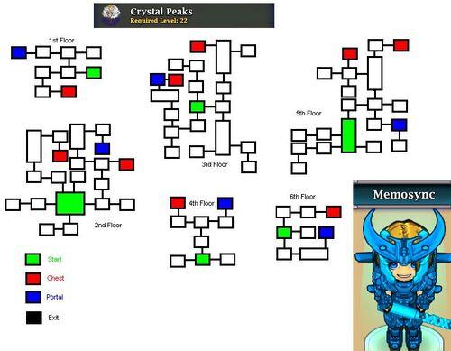 Crystal Peaks MAPS