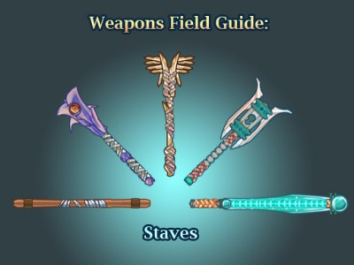 Weapons field guide-staves