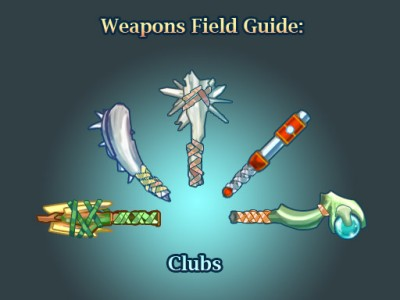 Weapons field guide-clubs