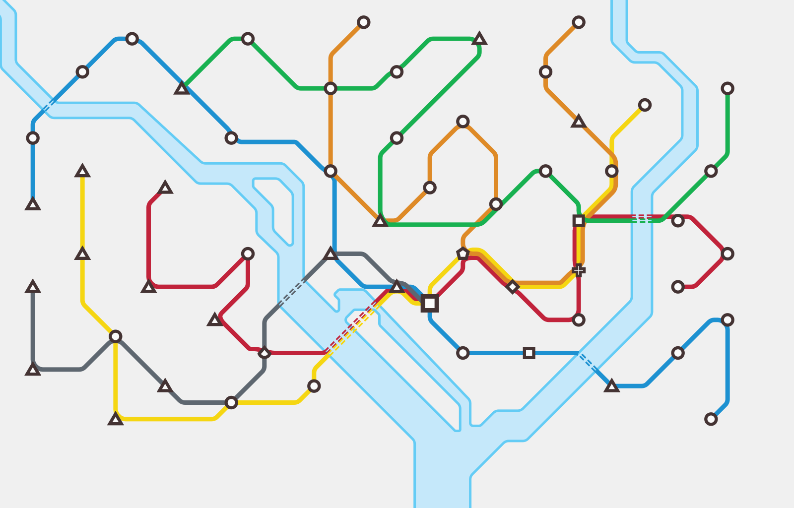 Washington, D.C. | Mini Metro Wiki | FANDOM powered by Wikia