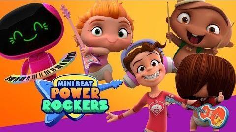 ¡¡¡Conoce a los personajes de Mini Beat Power Rockers!!!