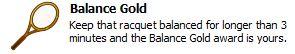 Balance gold