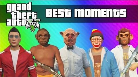 GTA 5 Best Moments - Funny Moments, Glitches, Skits (GTA 5 Online Single Player Montage)