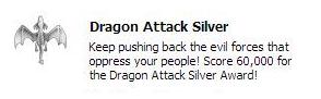 Silver dragom
