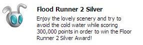 Silver runner