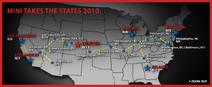 MINI Takes the States 2010
