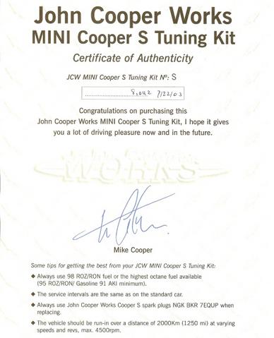 File:JCW Tuning Kit.png
