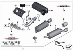 R55 Tuning Kit Parts ECE 200