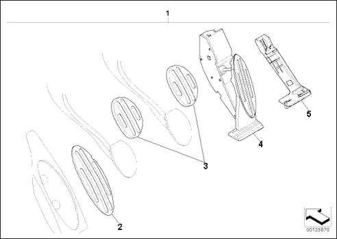 Pedals Parts Diagram