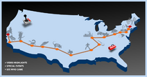 MINI Takes the States 2006