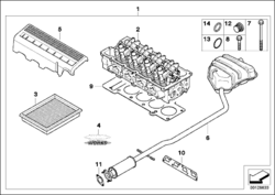 R50 Tuning Kit Parts