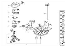 R50 Retrofit Spare Parts Diagram