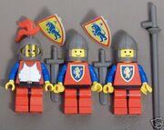 Crusader King and Guards