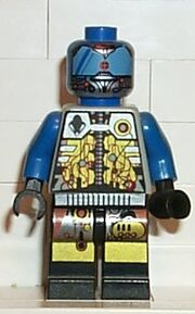 UFO Android Blue