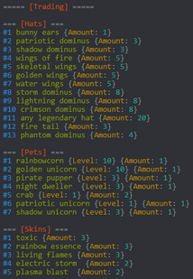 Colorful Code Block Example