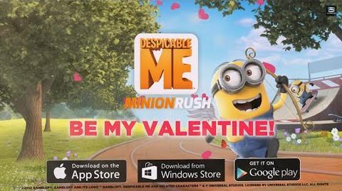 Despicable Me Minion Rush - Valentine's Day Trailer