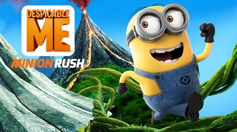 Despicable Me Minion Rush Trailer The Volcano Island Update
