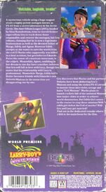 VHS back cover
