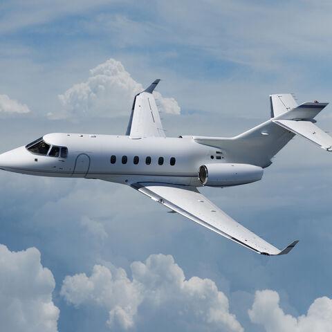 His Private Jet