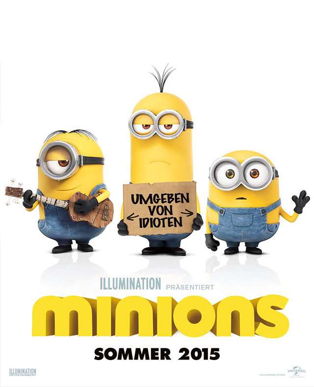 Die Minions Film 2021