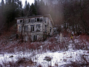 Creepy house