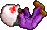 Sprite Doctor Purple Mid-Air fall