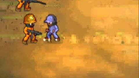 Minitroopers Working an injury