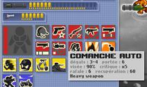 Comanche Auto stats
