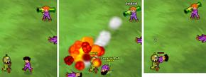 Minitroopers Take Cover vs Infernal Tube