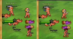 Binoculars Reversed