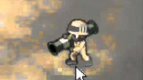 Minitroopers, Knife, level 2 V level 8