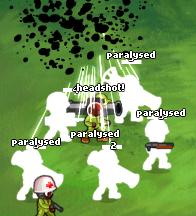 Minitroopers Paralysing Shells