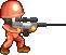 Sprite Soldier RedBrick MT aim