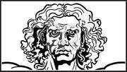 Fotomurale-capo-l-uomo-vitruviano-frammento-testa