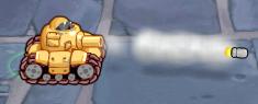 Minitroopers pilot light tank