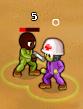 Minitroopers Death Grip damage