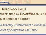 Hydroshock Shells