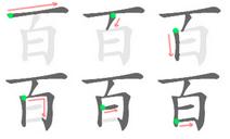 百 (書方灋ᅗᅩ)