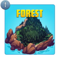 Mystery Island Forest Icon