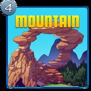 Earth Island Mountain Icon