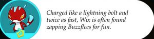 Wix's Description