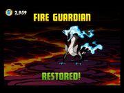 Spirit Fire Guardian Restored!